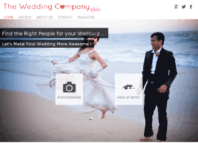 Theweddingcompany.in thumbnail