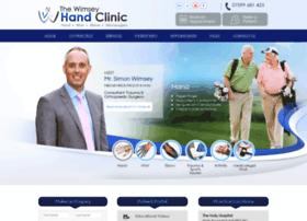 Thewimseyhandclinic.co.uk thumbnail