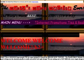 Theworldsworstwebsiteever.com thumbnail