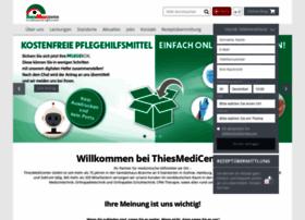 Thiesmedicenter.de thumbnail