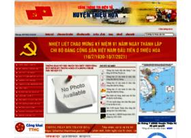 Thieuhoa.gov.vn thumbnail