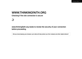 Thinkingfaith.org thumbnail