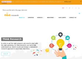 Thinkresearch.in thumbnail