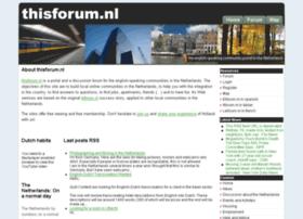Thisforum.nl thumbnail
