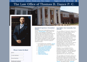 Thomasdancelaw.com thumbnail