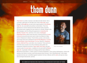 Thomdunn.info thumbnail