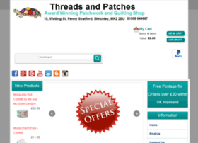 Threadsandpatches.co.uk thumbnail