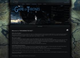 Thronemaster.net thumbnail