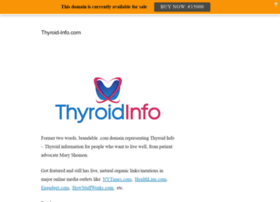 Thyroid-info.com thumbnail