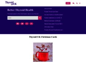 Thyroiduk.org.uk thumbnail
