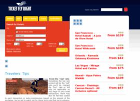 Ticketflyright.com thumbnail