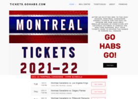 Tickets.gohabs.com thumbnail