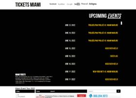 Ticketsmiami.org thumbnail
