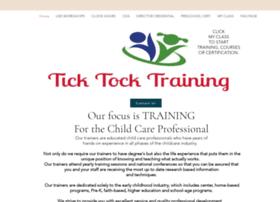 Ticktocktraining.org thumbnail