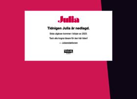 Tidningenjulia.se thumbnail