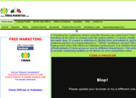 Tiens-pakistan.com thumbnail