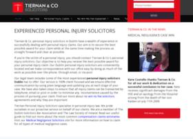 Tiernansolicitors.ie thumbnail