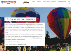 Tigardballoon.org thumbnail