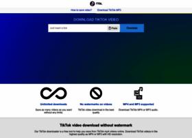 Tiktokdownload.online thumbnail