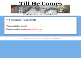 Tillhecomes.org thumbnail