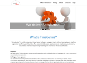 Timegenius.ca thumbnail