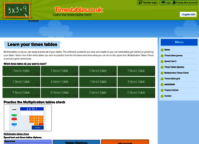 Timestables.co.uk thumbnail