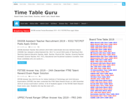 Timetableguru.in thumbnail