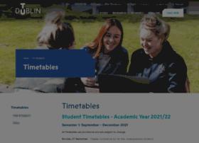 Timetables.dit.ie thumbnail