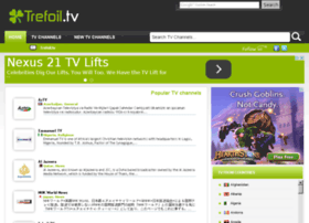 ... trefoil tv tv online switzerland internet tv watch online tv tv online