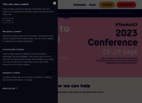 Tinnitus.org.uk thumbnail