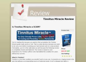 Tinnitusmiraclereviews.org thumbnail