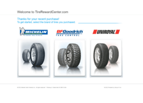 Tirerewardcenter.com thumbnail