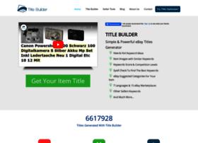 Title-builder.com thumbnail