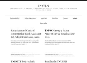 Tnvelai.com thumbnail