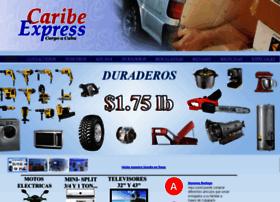 todoacuba net at WI  ENVIOS A CUBA, CARIBE EXPRESS