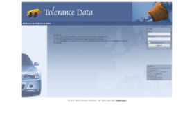 Tolerancedata.com thumbnail