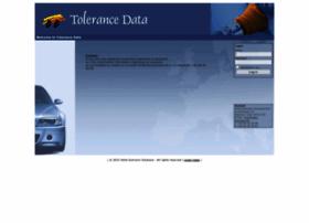 Tolerancedata.com thumbnail