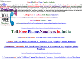Toll-free-numbers.net-question.in thumbnail