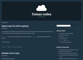 Tomas.codes thumbnail