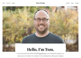 Tomdrake.net thumbnail