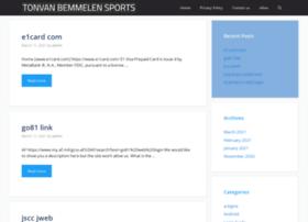 Tonvanbemmelensports.nl thumbnail