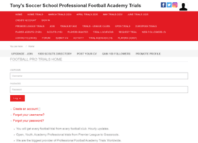 Tonys-soccer-school.net thumbnail
