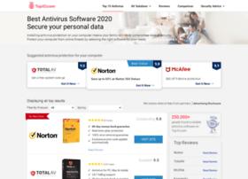 Top10antivirussoftware.com thumbnail
