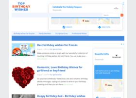 Topbirthdaywishes.org thumbnail