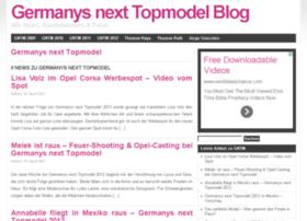 Topmodel-info.de thumbnail