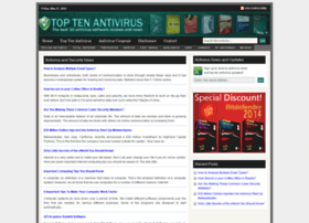 Toptenantivirus.net thumbnail