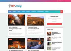 Topthings.me thumbnail