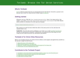 Tor2web.org thumbnail