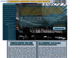 Torontoairporttaxirates.ca thumbnail