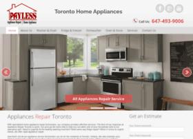Torontohomeappliancepros.ca thumbnail